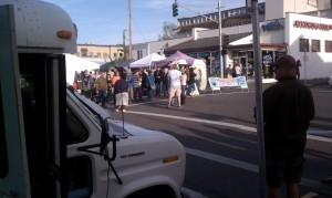 The Make Olympia street market.
