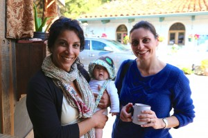 Reem, her baby, and Maria - great guests!