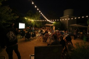 Movie night at The Ecology Center.