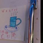 WANTED poster (by Mia and Carla).