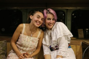 Tea wenches! Ally and Califa.