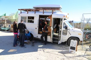 Terlingua Farmers' Market at the Community Garden.