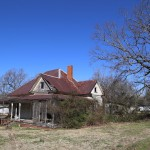 The house I was deconstructing in Bonlee, NC.