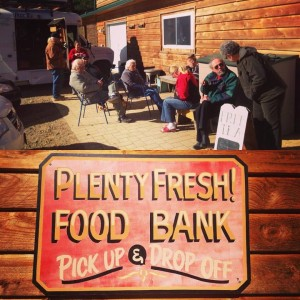 Plenty! Food bank and farm.