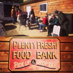 Plenty! Food bank and farm.