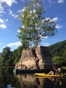 A calming, meditative trip down the Cheat River.