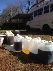 Oil collected in Columbus, MS - thanks to Birney!