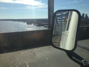 Crossing the Mississippi - we're back in The West!
