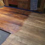 Refinishing the floor with Osmo Polyx Oil