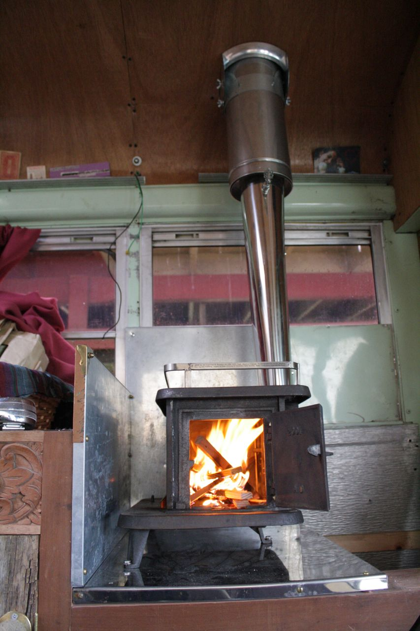 how to build a oil burning stove